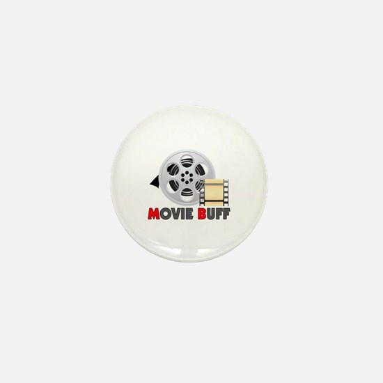I'm A Movie Buff Mini Button