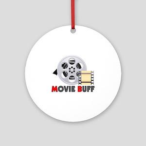 I'm A Movie Buff Ornament (Round)