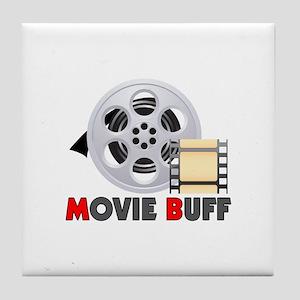 I'm A Movie Buff Tile Coaster