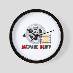 I'm A Movie Buff Wall Clock