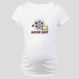 I'm A Movie Buff Maternity T-Shirt