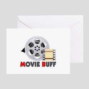 I'm A Movie Buff Greeting Card