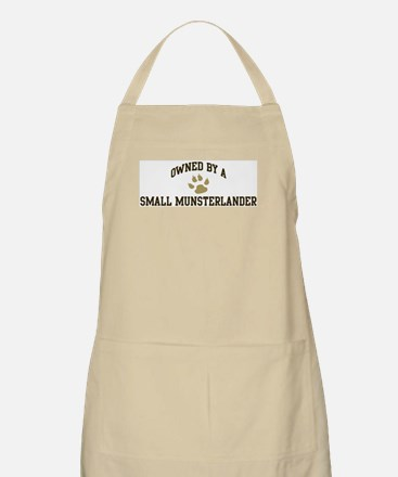 Small Munsterlander: Owned BBQ Apron