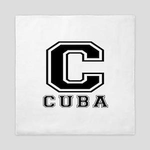 Cuba Designs Queen Duvet