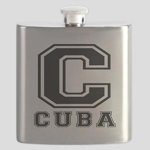Cuba Designs Flask
