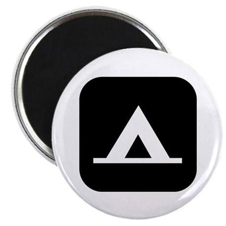 """Campground 2.25"""" Magnet (10 pack)"""