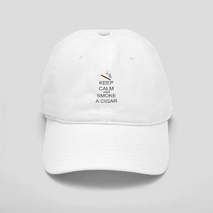 Keep Calm And Smoke A Cigar Cap