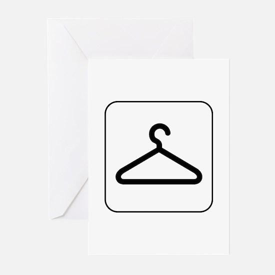 Closet and Coats Greeting Cards (Pk of 10)