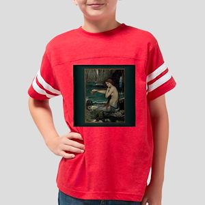 jww mermaid box 5 Youth Football Shirt