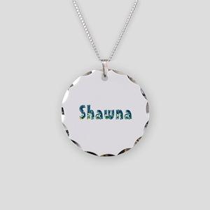 Shawna Under Sea Necklace Circle Charm