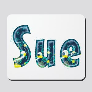 Sue Under Sea Mousepad
