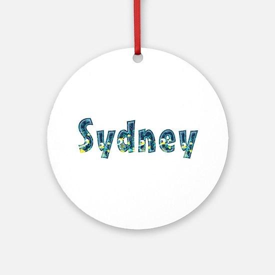 Sydney Under Sea Round Ornament