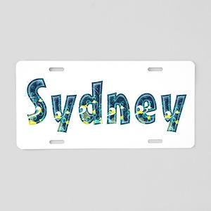Sydney Under Sea Aluminum License Plate