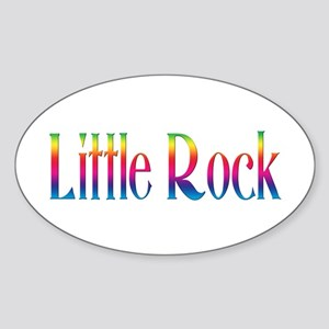 Little Rock Oval Sticker