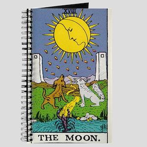 THE MOON TAROT CARD Journal