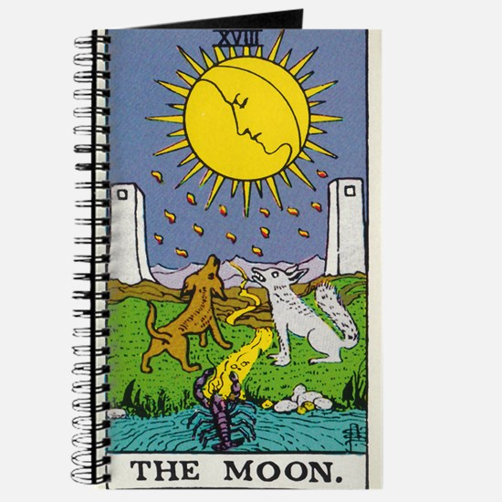 THE MOON TAROT CARD Journal