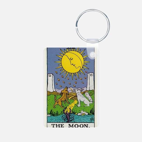 THE MOON TAROT CARD Keychains