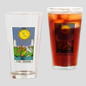 THE MOON TAROT CARD Drinking Glass