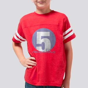 5 Months Youth Football Shirt