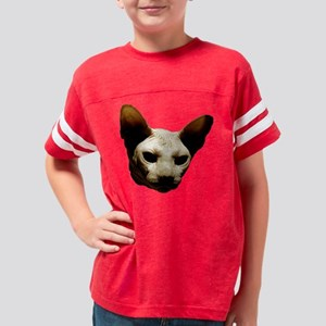 hairless_cat03 Youth Football Shirt