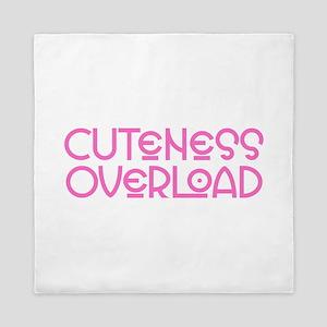 Cuteness Overload - Pink Queen Duvet