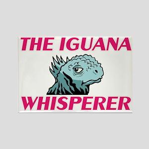 The Iguana Whisperer Magnets