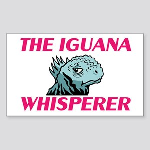 The Iguana Whisperer Sticker