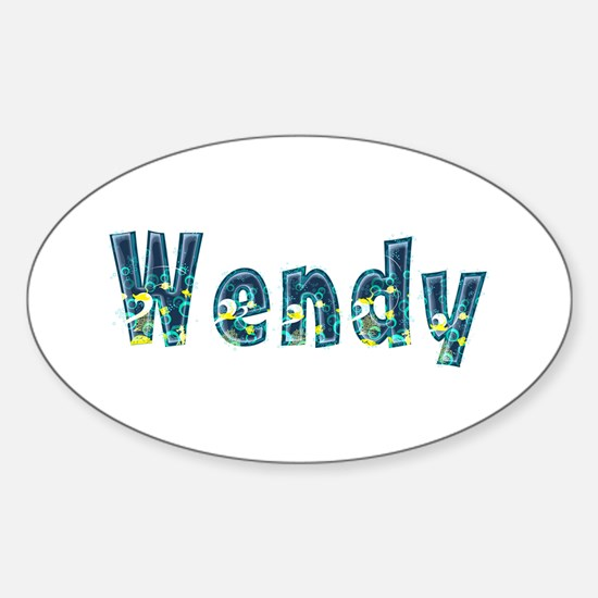 Wendy Under Sea Oval Decal