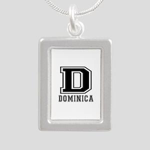 Dominica Designs Silver Portrait Necklace