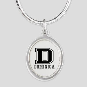 Dominica Designs Silver Oval Necklace
