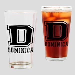 Dominica Designs Drinking Glass