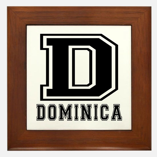 Dominica Designs Framed Tile