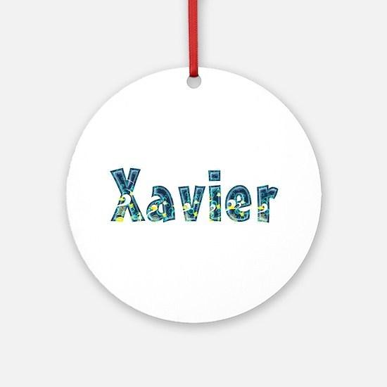 Xavier Under Sea Round Ornament