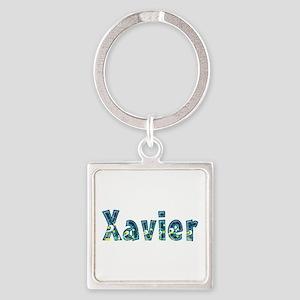Xavier Under Sea Square Keychain