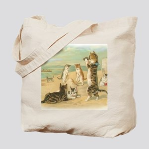 Beach Kittens Tote Bag