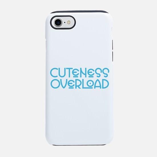 Cuteness Overload - Blue iPhone 7 Tough Case