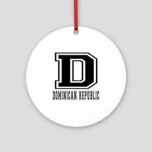 Dominican Republic Designs Ornament (Round)