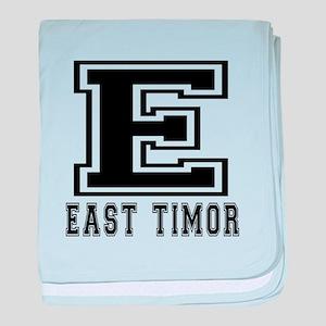 East Timor Designs baby blanket