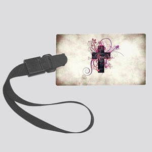 Cross of Grace Large Luggage Tag