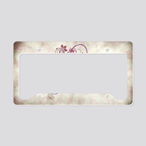 Cross of Grace License Plate Holder