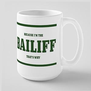 Bailiff Large Mug