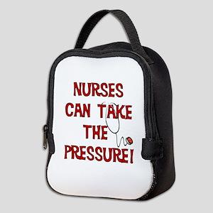 Nurses Can Take The Pressure Neoprene Lunch Bag