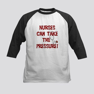 Nurses Can Take The Pressure Kids Baseball Jersey