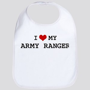 I Love My Army Ranger Bib