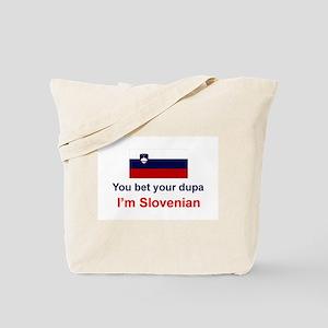 Slovenian Dupa Tote Bag