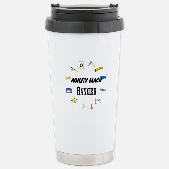 Dog Agility Title Stainless Steel Travel Mug