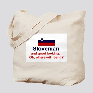 Good Looking Slovenian Tote Bag
