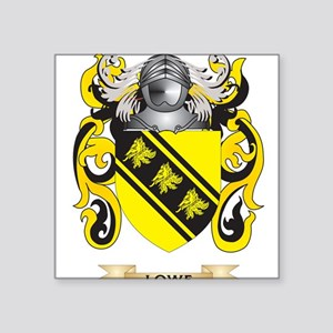 Lowe Coat of Arms - Family Crest Sticker