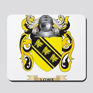 Lowe Coat of Arms - Family Crest Mousepad