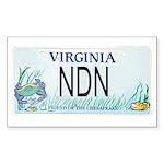Virginia NDN Pride Rectangle Sticker